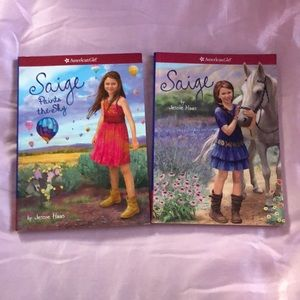 Brand new American Girl Sage books